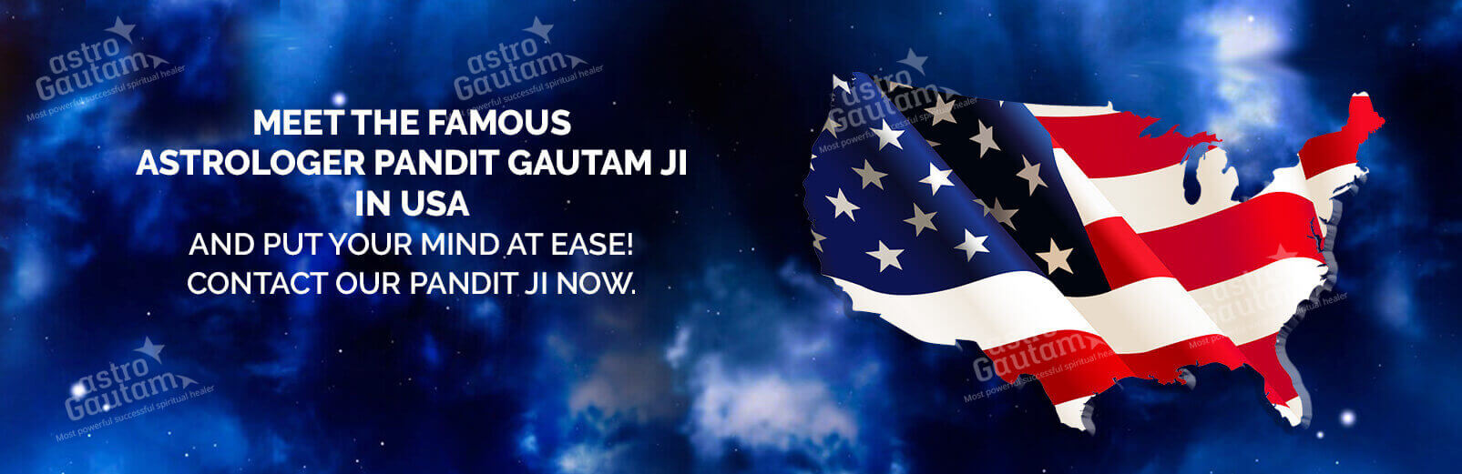 Astrologer Gautam Astrology Services Banner